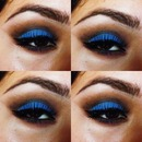 Brown & Blue Smokey