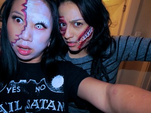 Ghost zombie and Scar face