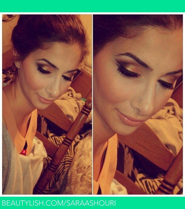Evening Bridal Makeup By Me Sara Ashouri Sara A S