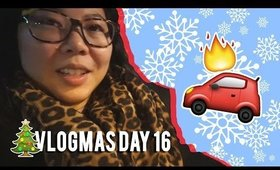 🎄 VLOGMAS DAY 16: CAR EXPLOSION, TRYING ORIGINS PLANTSCRIPTION SERUM | MakeupANNimal