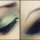 Soft Smokey Green/ Double Liner