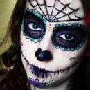 Sugar Skull halloween makeup