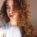 Curly hair😍