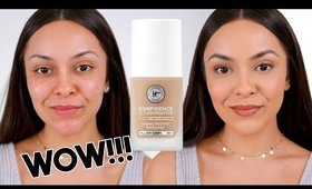 IT COSMETICS CONFIDENCE IN A FOUNDATION DEMO + REVIEW - TrinaDuhra