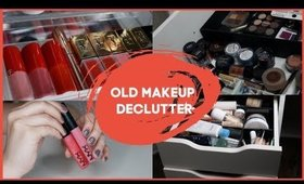 DECLUTTERING SUPER OLD MAKEUP + TELLING YOU THEIR SENTIMENTAL STORIES
