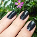 Essence Floral Grunge Black to the roost