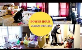 POWER HOUR| CLEAN WITH ME
