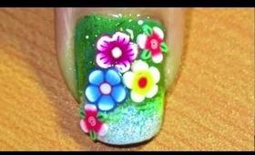 flower power- nail art tutorial... :-)
