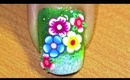 flower power- nail art tutorial... :-)