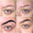 Eyebrow tinting process :)