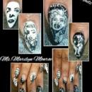 Marilyn Monroe nails 2.0