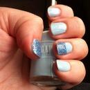 Light blue frost