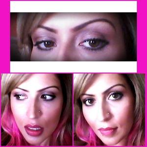 Inglot. Makeup all around..natural day