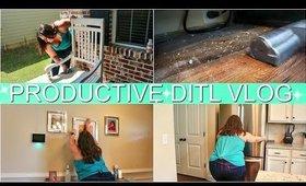 VERY PRODUCTIVE DITL VLOG | TACKLING MY MOST DREADED CHORES