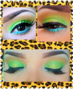 Nicki's Viva Glam inspired eyes<3