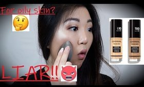 Gemi Review: Covergirl Trublend Matte Made Foundation Review I Demo + First impressions