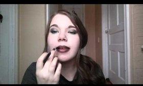 Vampy Ombre Lips using Younique Precision Pencils