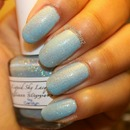Liquid Sky Lacquer Glass Slippers♥
