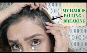 What I am trying for Hair Loss + hair breakage