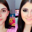 After/Before: Make up complete in less than 10 minutes (video)