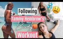 I Tried Following Tammy Hembrows Booty Workout // Home Booty Circuit