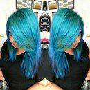 Turquoise hair :)