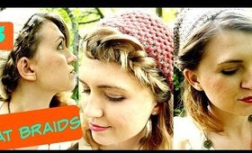 3 Heat Free Hairstyles for Knit Hats | Autumn Hairstyle Ideas