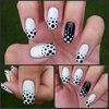 Reverse Polka Dot Nails