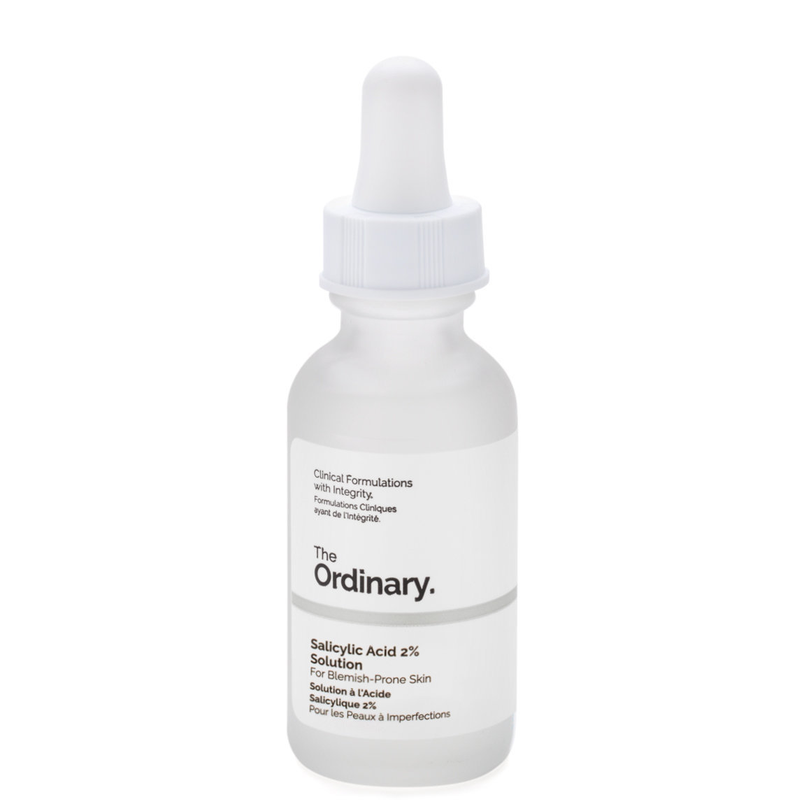 The Ordinary. Salicylic Acid 2% Solution product smear.