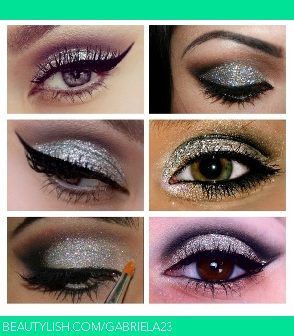 Glitter Eye Makeup Gabriela C S Gabriela23 Photo