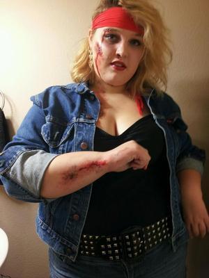 Halloween party #1 (makeup)