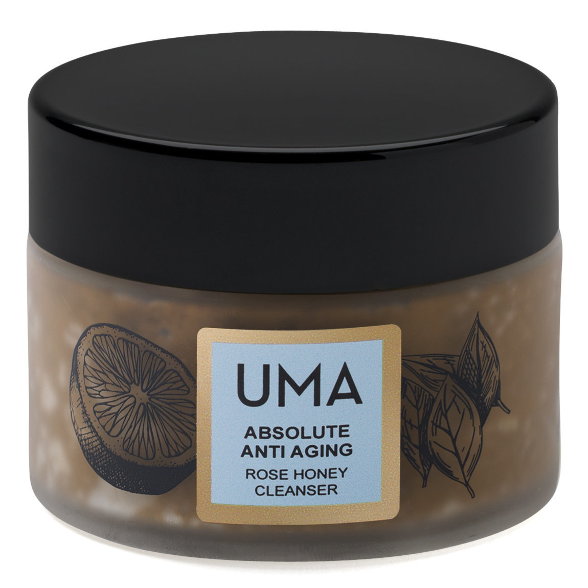 Uma Absolute Anti Aging Rose Honey Cleanser product smear.