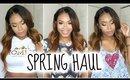 Spring Fashion Haul (Try-On) 2015   AmiClubWear