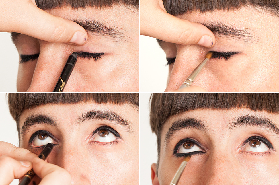 Would You Rock Guyliner Our Guide To Eye Makeup For Men Beautylish