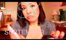 September Ipsy Bag!  Newfound love....