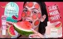 Watermelon MUKBANG Skincare Routine | MUST WATCH