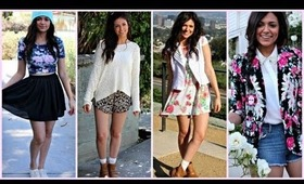 Spring Outfit Ideas: Floral Print!