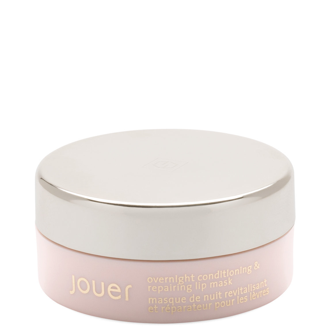 Jouer Cosmetics Overnight Conditioning & Repairing Lip Mask product smear.