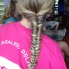 Plain fishtail