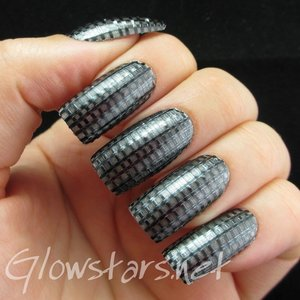Read the blog post at http://glowstars.net/lacquer-obsession/2014/06/the-digit-al-dozen-does-metal-carbon-fibre/