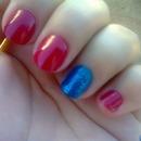 cute nail <3