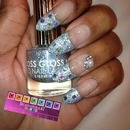 2014 New Year's Nails by Dearnatural62