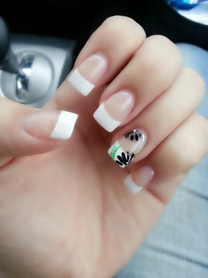 White tips and new design.