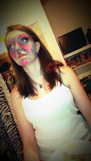 Love having fun with bright pigments