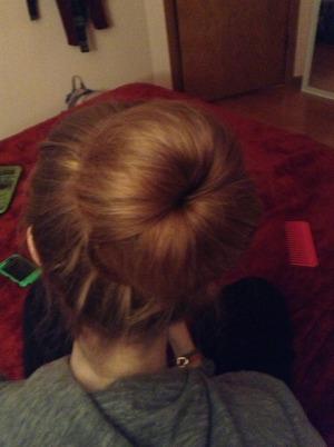 Did my friends hair