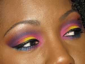 About 5 different Sugarpill eyeshadows! Love that brand!
