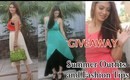 Summer Outfit Ideas and Fashion Tips - Giveaway Ft.Dailylook