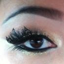 Paper lashes.