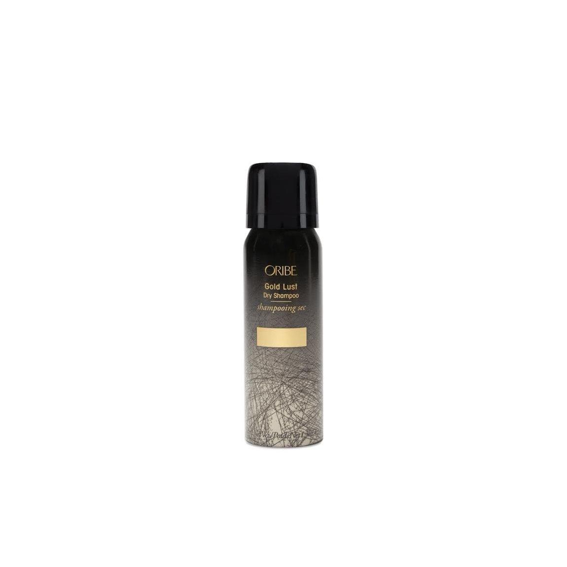 Oribe Gold Lust Dry Shampoo 1.3 oz product swatch.