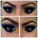 Dark blue yellow